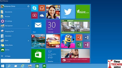 Microsoft unveils Windows 10 system with Start Menu | Technology News