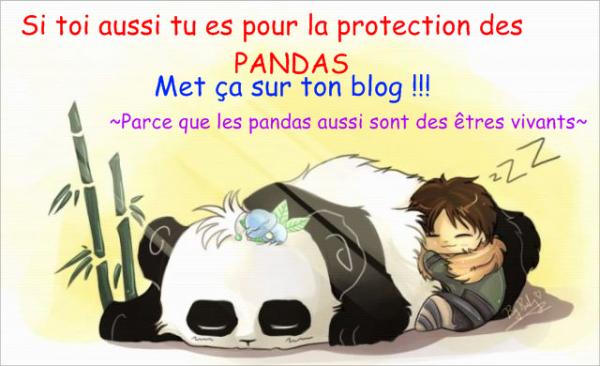 protegons les panda
