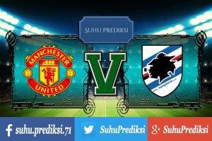 Prediksi Bola Manchester United Vs Sampdoria 3 Agustus 2017