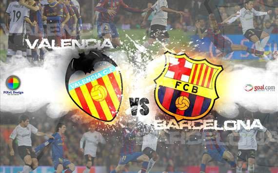 عرباوى: مشاهدة مباراة برشلونة وفالنسيا بث مباشر 2/9/2012