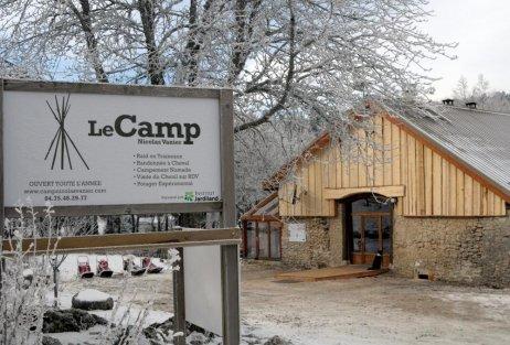 Le camp Nicolas Vanier dans le Vercors, c'est terminé.......
