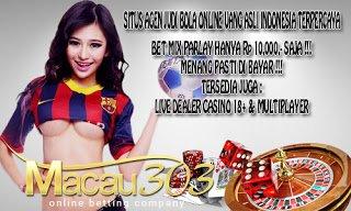 IDN SPORTSBOOK MACAU303: Situs Info Prediksi Judi Bola Paket Mix Parlay Online Akurat