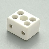 Nora NDSA-4 Porcelain Terminal Block - Nora Decolume Striplight Accessories - VGKLighting