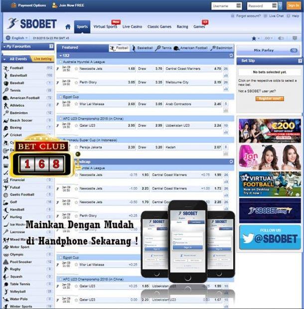 Main Judi Bola Online Mobile Handphone Bonus Terbesar