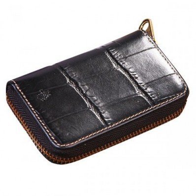 Most Wanted Mulberry Zip Around Printed Leathers Coin Purses Black Save 60%