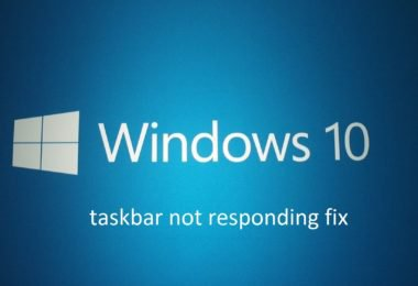 Know Why Windows 10 taskbar not hiding and How to fix it? {Updated}