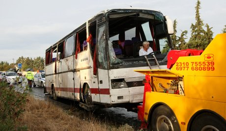 4 Russians killed, 46 injured in Greece bus crash