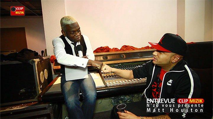 Entrevue Clip Mizik avec Matt Houston présenté par Nzo