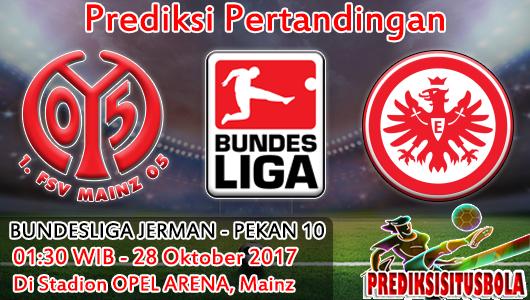 Prediksi Mainz 05 VS Eintracht Frankfurt 28 Oktober 2017