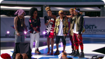 Mindless Behavior Shows the Fans Love