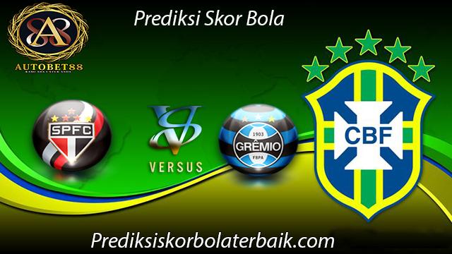 Prediksi Sao Paulo vs Gremio 25 Juli 2017 - Prediksi Bola
