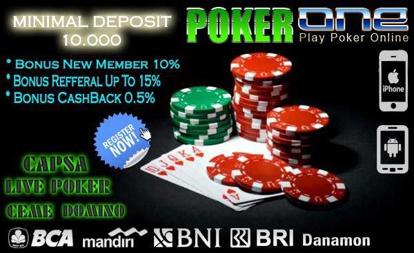Cara Bermain Poker Online Deposit 10rb