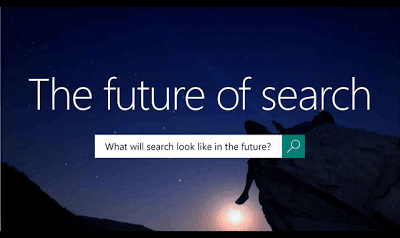 just free learn : The future of search infographic