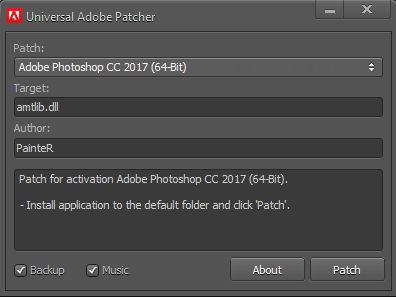 Universal Adobe Patcher 2017 (CC + CS6) Full Free Download | FullFreeVersion