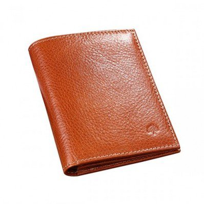 Unique Mulberry Men Mini Tri Fold Natural Leathers Wallet Oak With Free Shipping And Fast Delivery