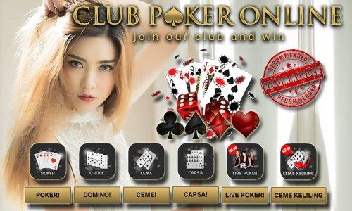 Poker Online Fasilitas Rekening Bank Paling Komplit