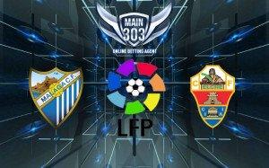 Prediksi Malaga vs Elche 4 Mei 2015 Primera Division