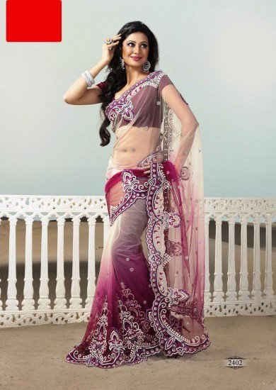 Amazing and affordable partywear saree and your  budget prices at LaRoyal