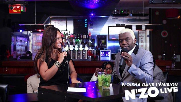 Eloisha dans l'émission N'ZO Live