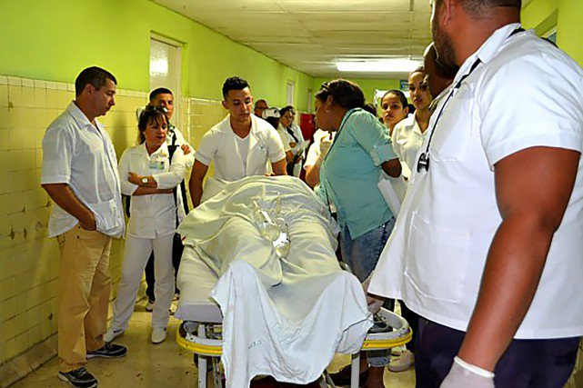 11-01-2019 - Cuba - Un grave accident de la route impliquant un autocar a tué sept passagers et blessé des touristes canadiens