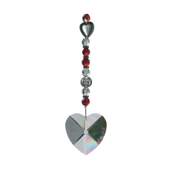 Cristal solaire Coeur de Cristal - Magie des Bijoux - Feng Shui