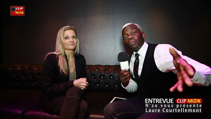 Entrevue Clip Mizik avec Laure Courtellemont présenté par N'zo