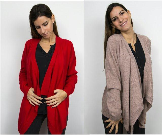 Gilet ouvert cachemire femme a vendre sur internet en France - Coupon France