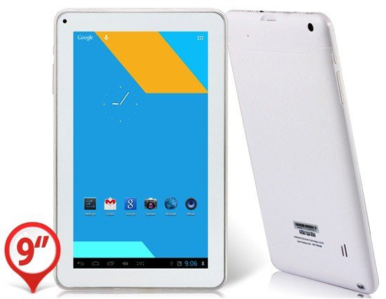 "Aiwa H867 9.0"" Capacitive Touch 800x480 Android 4.1.1 Dual Core ATM7021 1.2GHz Tablet PC with Wi-Fi, Camera (8GB) (White) - 9-9.7"" Tablet - Android Tablet PC - Tablet PC - ahappymango.com"