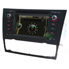Auto DVD Player GPS Navigationssystem für BMW E92 3 Series Coupe(2005 2006 2007 2008 2009 2010 2011 2012)(automatische Klimaanlage und Sitzheizung)