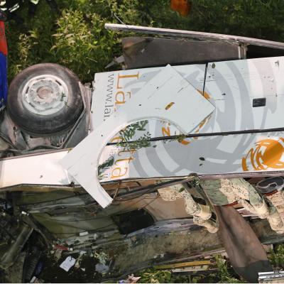Pérou: 18 morts dans un accident d'autocar