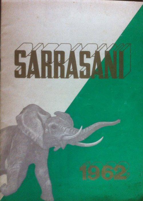 Programme cirque SARRASANI 1962