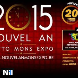 N1GHT.com - Nouvel An 2015 @ Lotto Mons Expo at Nouvel An Mons Expo (Hainaut (Mons/Charleroi))