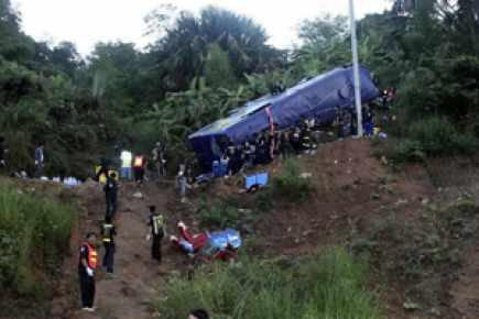 Accident de bus en Thaïlande: au moins 22 morts | Asie & Océanie