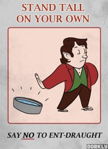 THE MORE YOU KNOW: Middle-Earth PSAs [Pics]