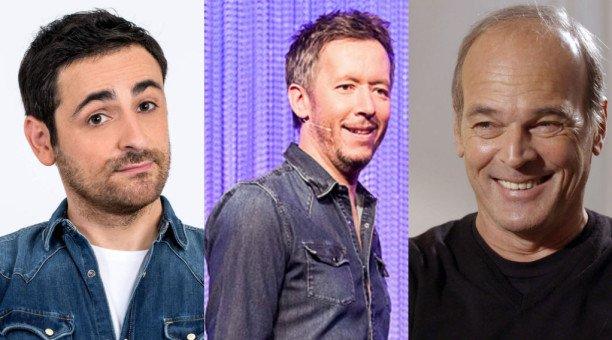 Camille Combal, Jean-Luc Lemoine et Laurent Baffie élus meilleurs chroniqueurs télé cette année Actu - Télé 2 Semaines