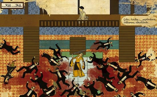 En images : des scènes de films cultes façon peintures ottomanes