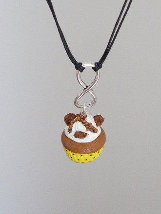 Collier infini cupcake en fimo : Collier par jl-bijoux-creation