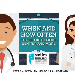When and How often to see the Dentist | Dentist in North Lakes | Visual.ly
