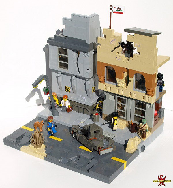"Check Out This Custom ""Fallout"" LEGO Set"