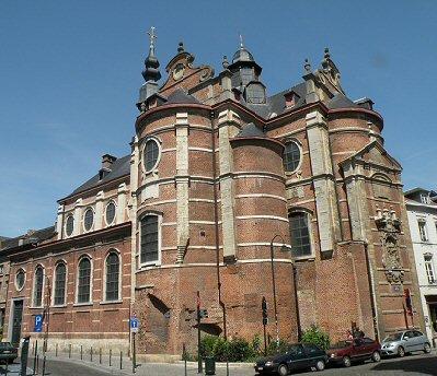 eBru | Eglise de Notre-Dame aux Riches Claires | Bruxelles Pentagone
