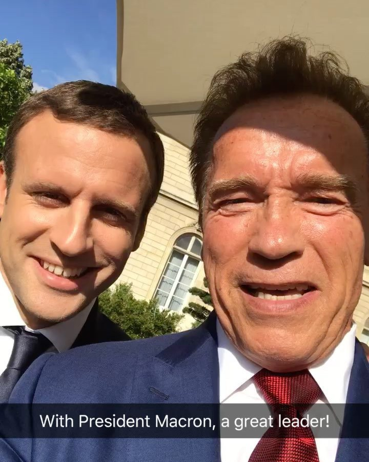 Instagram post by Arnold Schwarzenegger • Jun 23, 2017 at 5:25pm UTC