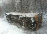 Accident d'autobus près de Durham-Sud