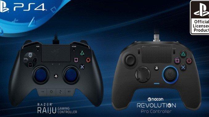 Deux nouvelles manettes PS4 Pro pour les gamers
