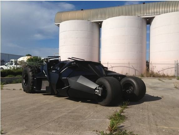 Street-legal Batmobile can be yours for only $1 million