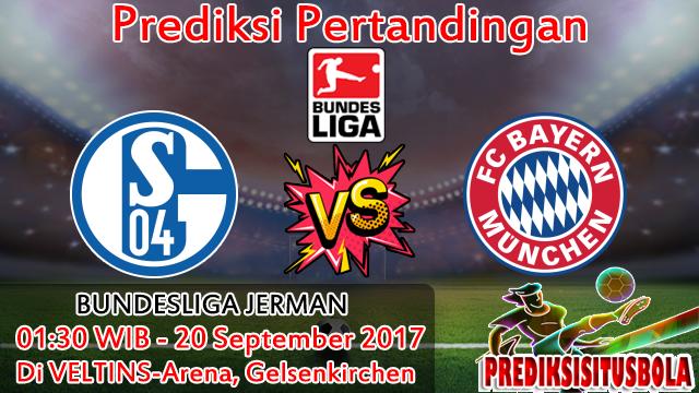 Prediksi Schalke 04 VS Bayern Munchen 20 September 2017