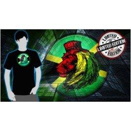 Tee shirt lumineux Jamaica Electronique Led - PardoShop