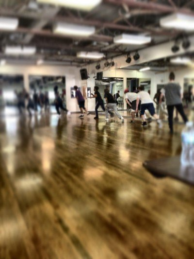 dance practice?? this was a work out...I'm dying here!! lol