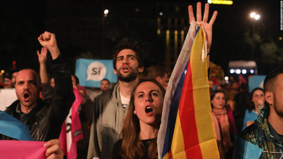 Catalonia referendum result is a crisis for Spain
