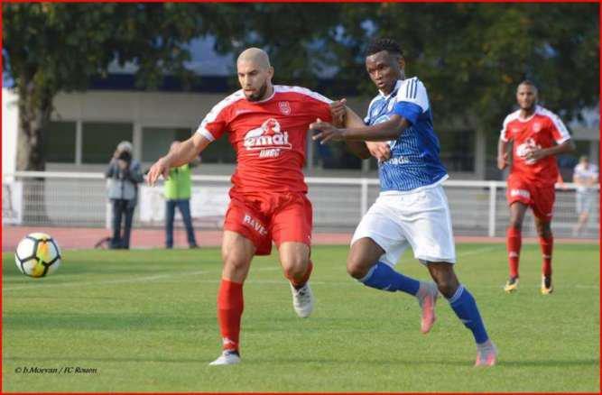 FCR -  FC Rouen - Pacy : 1-0