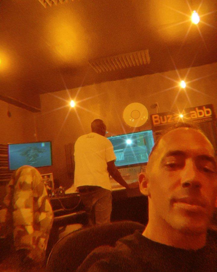 """""""Que du Sal dans le Four... ?? #SALMUSIC ?? s/o @bambinaofficiel ? #studiolife #studiotime #rapmusic #rapmonster #rapfrancais #paris #foryou…"""""""